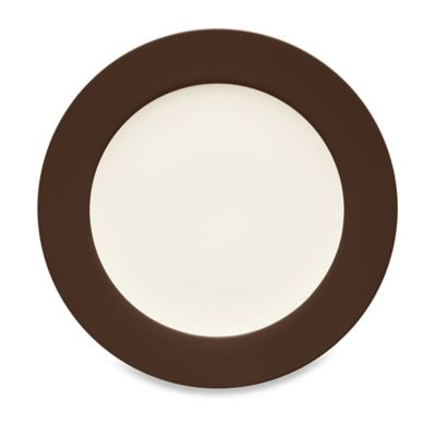 Noritake® Colorwave Rim Platter in Chocolate