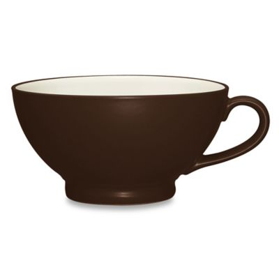 Noritake® Colorwave Handled Bowl in Chocolate