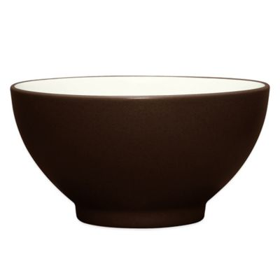 Noritake® Colorwave Rice Bowl in Chocolate