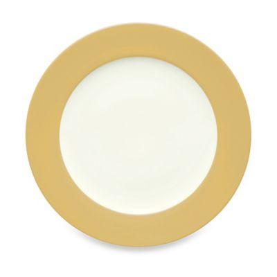 Noritake® Colorwave Rim Salad Plate in Mustard