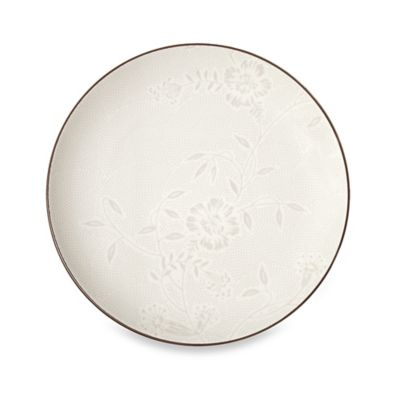 Noritake® Colorwave Bloom Coupe Salad Plate in Chocolate