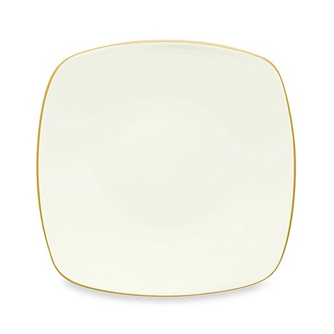 Noritake® Colorwave Square Salad Plate in Mustard