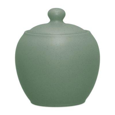 Noritake Green Sugar Bowl