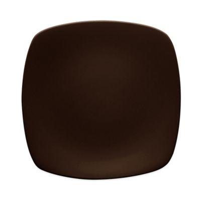 Noritake® Colorwave Medium Quad Plate in Chocolate