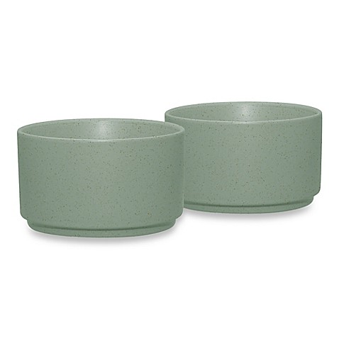 Noritake® Colorwave Ramekins in Green (Set of 2)