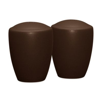 Noritake® Colorwave Salt and Pepper Shakers in Chocolate