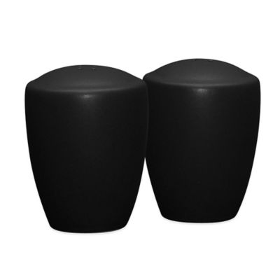 Noritake® Colorwave Salt and Pepper Shakers in Graphite