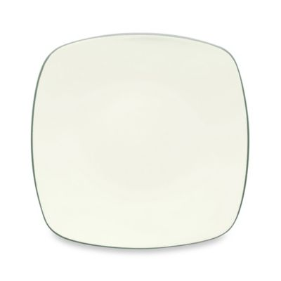 Noritake® Colorwave Square Dinner Plate in Green