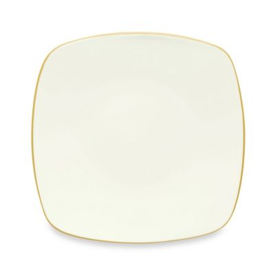 Noritake® Colorwave Square Dinner Plate in Mustard