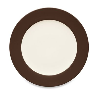 Noritake® Colorwave Rim Dinner Plate in Chocolate