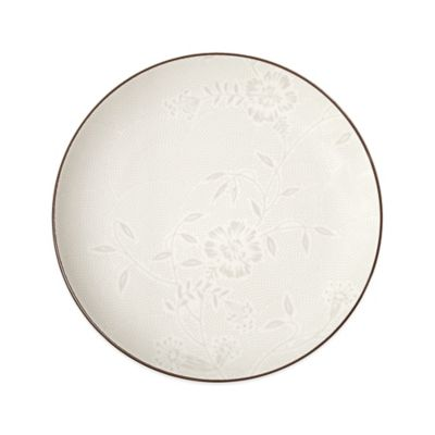 Noritake® Colorwave Bloom Dinner Plate in Chocolate