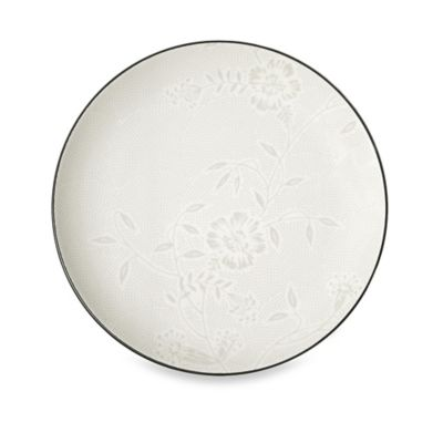 Noritake® Colorwave Bloom Dinner Plate in Graphite