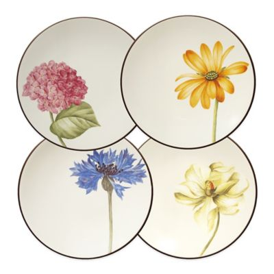 Noritake® Colorwave Appetizer Plates in Chocolate (Set of 4)