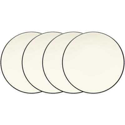 Noritake® Colorwave Mini Plates in Graphite (Set of 4)