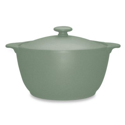 Noritake® Colorwave Covered Casserole Dish in Green