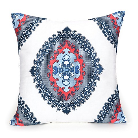 Trina Turk® Coastline Ikat 18-Inch Square Toss Pillow