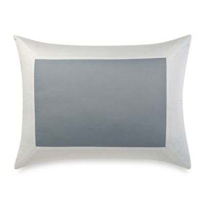 Wamsutta® Hotel MICRO COTTON® Standard Pillow Sham in Blue/White