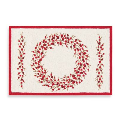 Berry Wreath Accent Rug