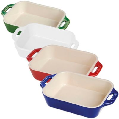 Cherry Red Baking Dishes