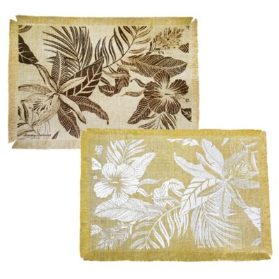 Tommy Bahama® Tropics Placemat in White