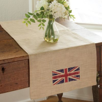Downton Abbey® Union Jack 16-Inch x 48-Inch Table Runner
