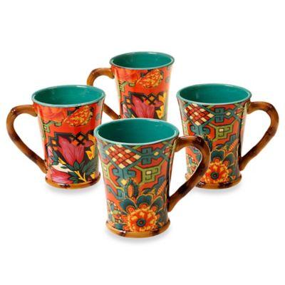 Tracy Porter® Poetic Wanderlust® Eden Ranch 18 oz. Mug (Set of 4)