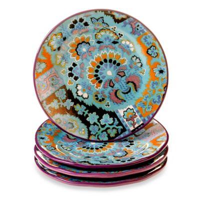 Tracy Porter® 8.5-Inch Dessert Plate Set of 4 for Poetic Wanderlust® in Rose Boheme