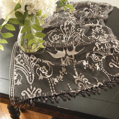 Downton Abbey® Duchess Collection Lace 18-Inch x 48-Inch Table Runner