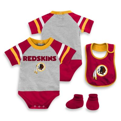 NFL Washington Redskins 3-Piece Creeper Set