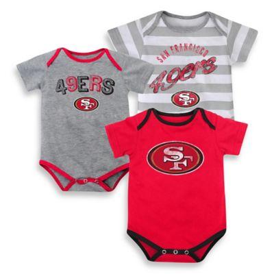 Team Shop > NFL San Francisco 49ers Size 18M 3-Pack Bodysuits