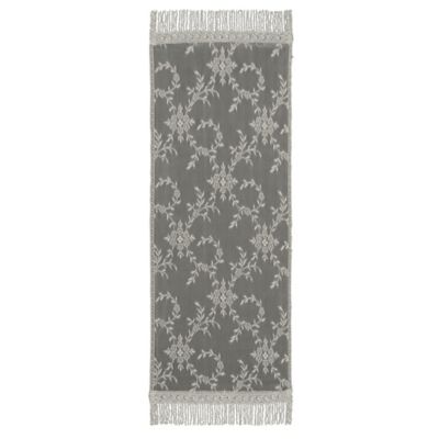 Downton Abbey® Yorkshire Collection Lace 60-Inch x 20-Inch Table Runner in Flax
