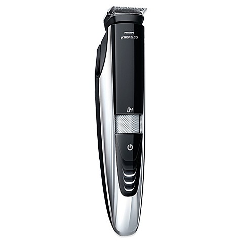 philips norelco bt9285 41 beard trimmer with laser guide in black silver bed bath beyond. Black Bedroom Furniture Sets. Home Design Ideas