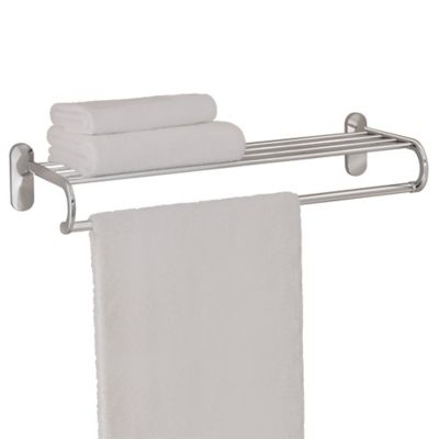 Chrome Towel Shelves