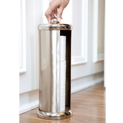 BathSense Easy Turn Toilet Paper Reserve