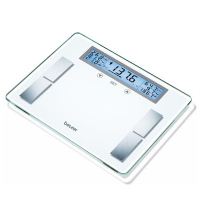 Beurer Glass Body Analysis Bathroom Scale