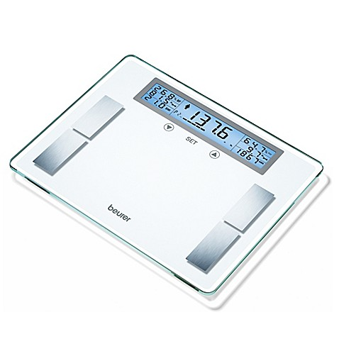 Beurer Glass Body Analysis Bathroom Scale Bed Bath Amp Beyond