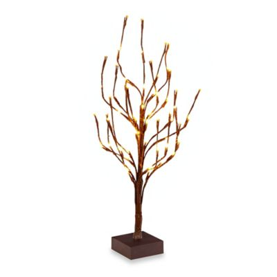 24-Inch Battery Operated LED Lighted Tree
