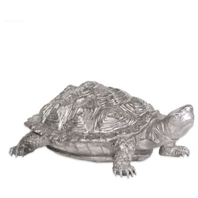 Howard Elliott® Textured Pewter Turtle Figurine