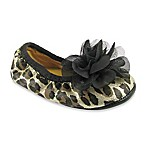 Natural Steps® Leopard Ballerina Flat with Flower
