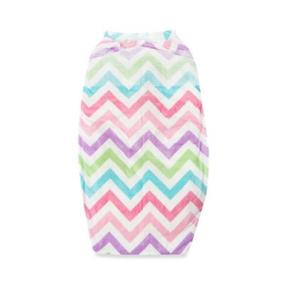 Honest 44-Pack Size 1 Diapers in Chevron Pattern