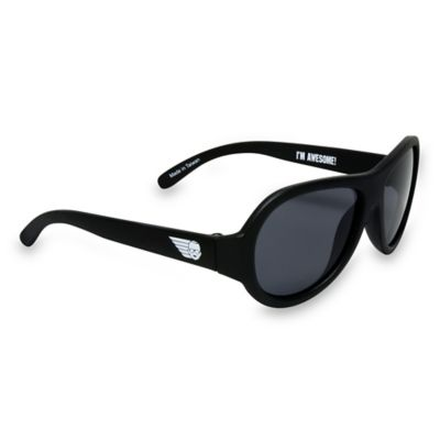 Black Infant Sunglasses