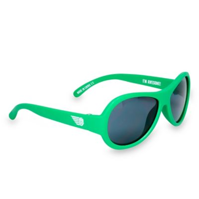 Babiators® Junior Babiators Infant Sunglasses in Go Time Green