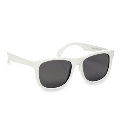 Baby Opticals by Mustachifier™ Tinted Lens Sunglasses in White