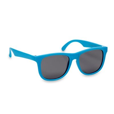 Baby Opticals by Mustachifier™ Tinted Lens Sunglasses in Neon Blue