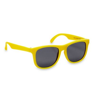 Baby Opticals by Mustachifier™ Tinted Lens Sunglasses in Neon Yellow