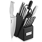 Cuisinart® Stainless Steel Hollow Handle 15-Piece Cutlery Knife Block Set