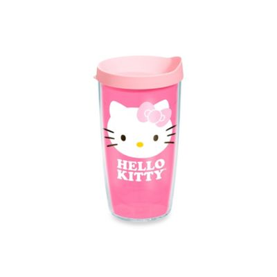 Tervis® Hello Kitty® Face with Pink Bow 16 Oz. Wrap Tumbler with Lid