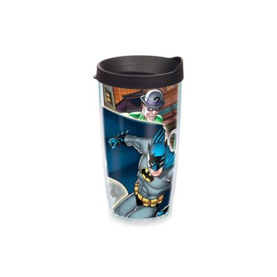Batman 16 Oz. Wrap Tumbler with Lid