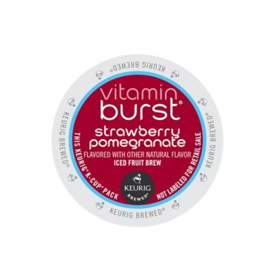 K-Cup® 16-Count Vitamin Burst Strawberry Pomegranate Iced Fruit Brew for Keurig® Brewers