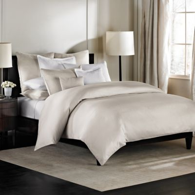 Barbara Barry Dream Aurora Ombre Twin Duvet Cover in Moonglow